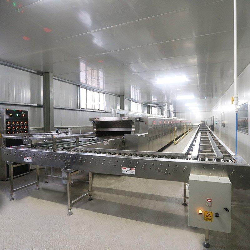 BOSSDA baking electric bread cake tunnel oven