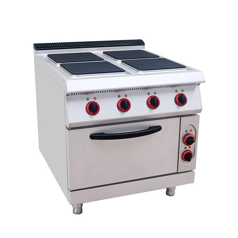 Factory Electric Hot Plate Range with Oven