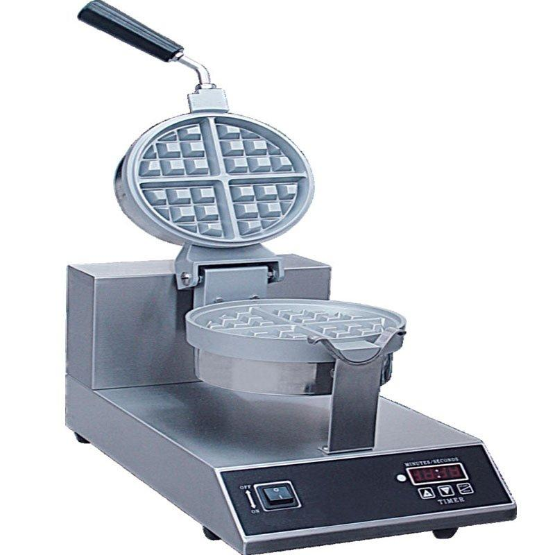 Stainless Steel Snack Machines Egg Waffle Maker