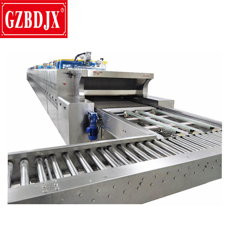 Full-Auto Proportional Industrial biscuit bread baking tunnel oven