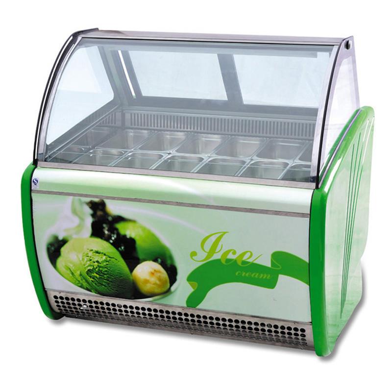 ice cream refrigeration display cabinet Cb - 1200