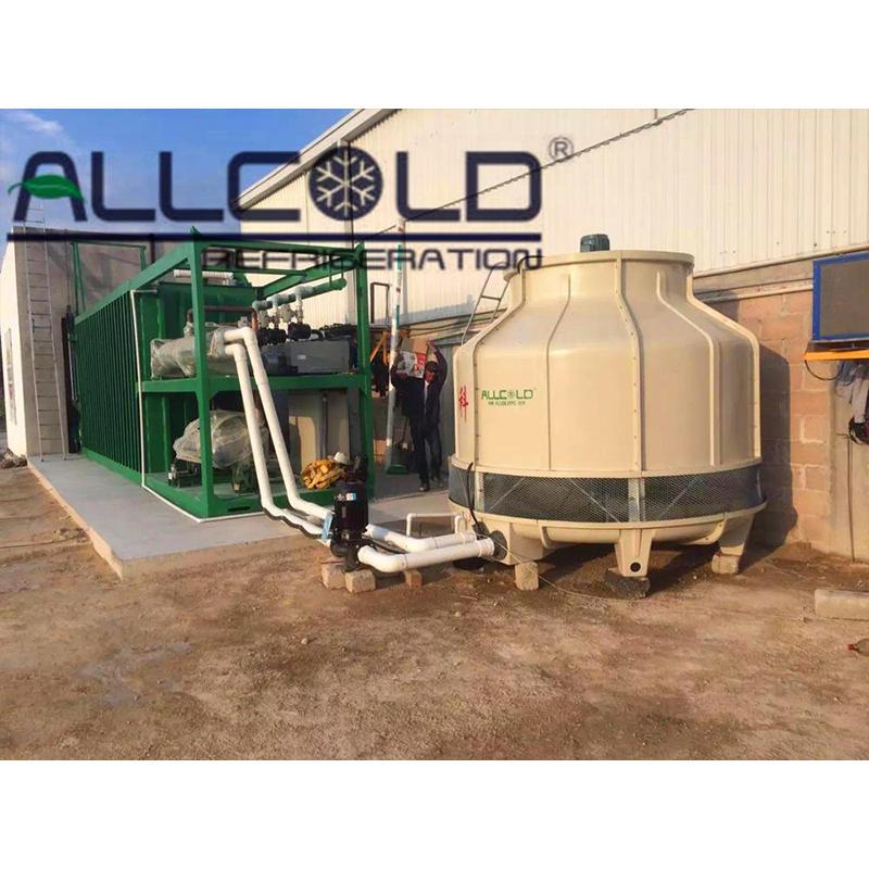 Refrigeration Rapid Leybold Busch Pump 6 Pallets Vacuum Cooler/ Flower vacuum chiller machine/Vegetable vacuum cooling machine
