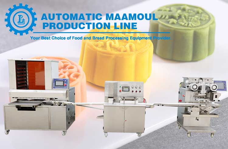 multifunctional moon cake/ mammoul production line