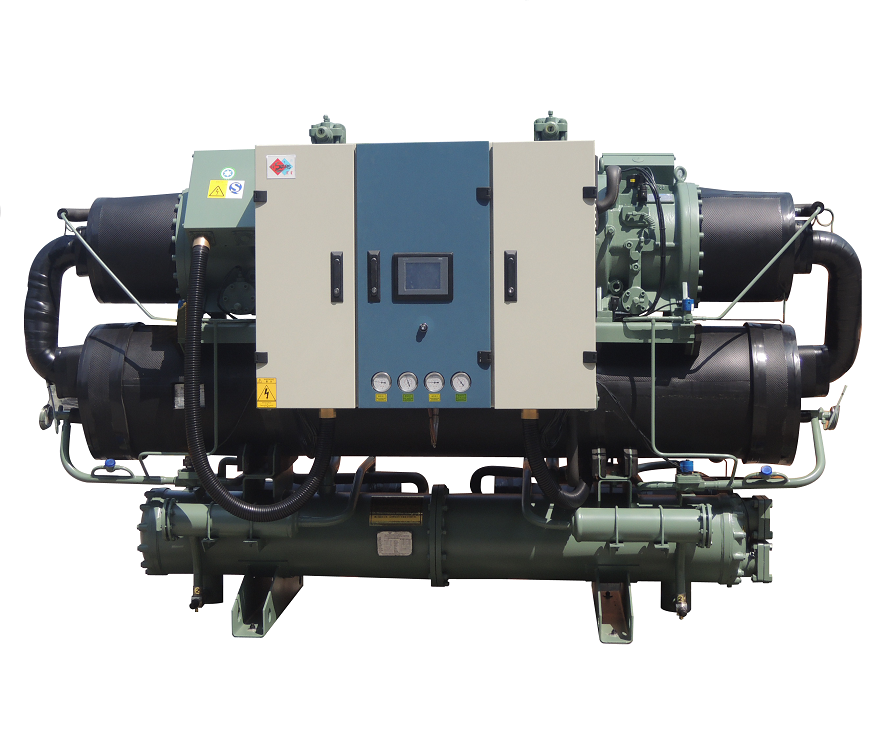 Industrial Water Cooled Screw Chiller for plastic injection,water cooling chiller machine