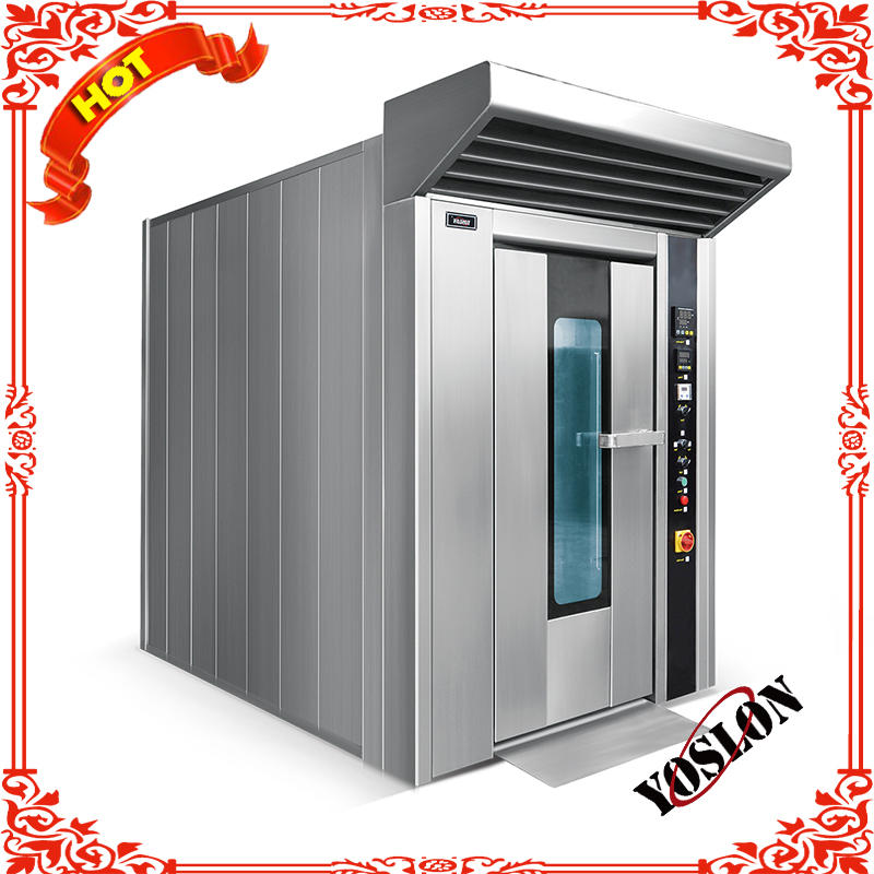 hot sale 64 trays electric rotary rack oven for sale