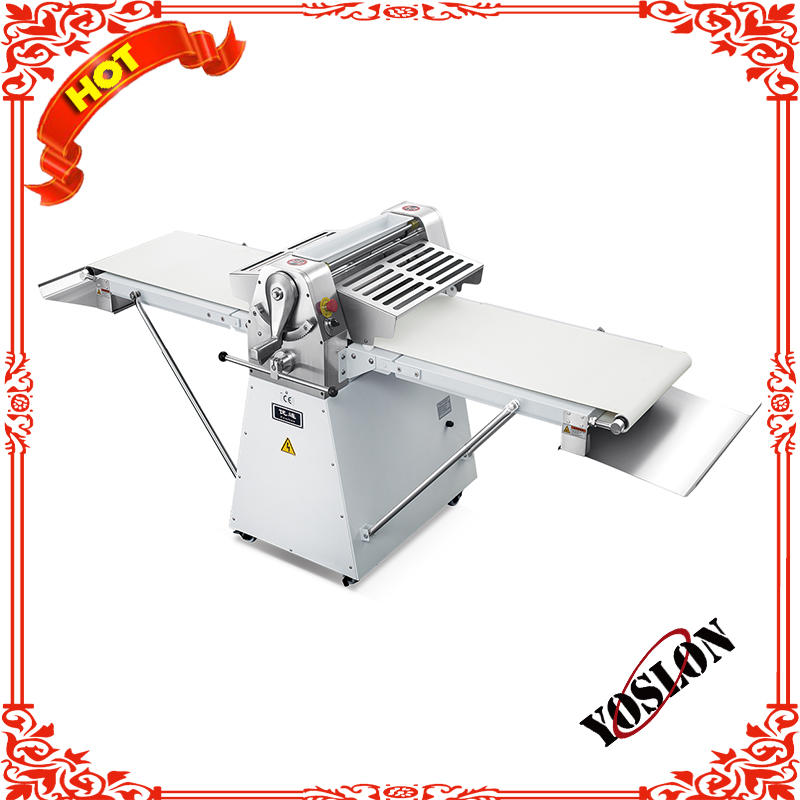 commercial used stand type dough sheeter for making puff pastry/egg tart good price