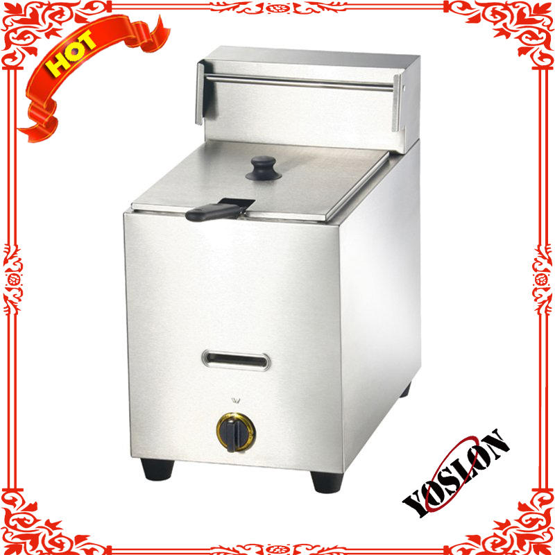 Table Counter Top Automatic Commercial Stainless Steel Electric Deep Fryer For Sale (2 Tank,2 Basket)