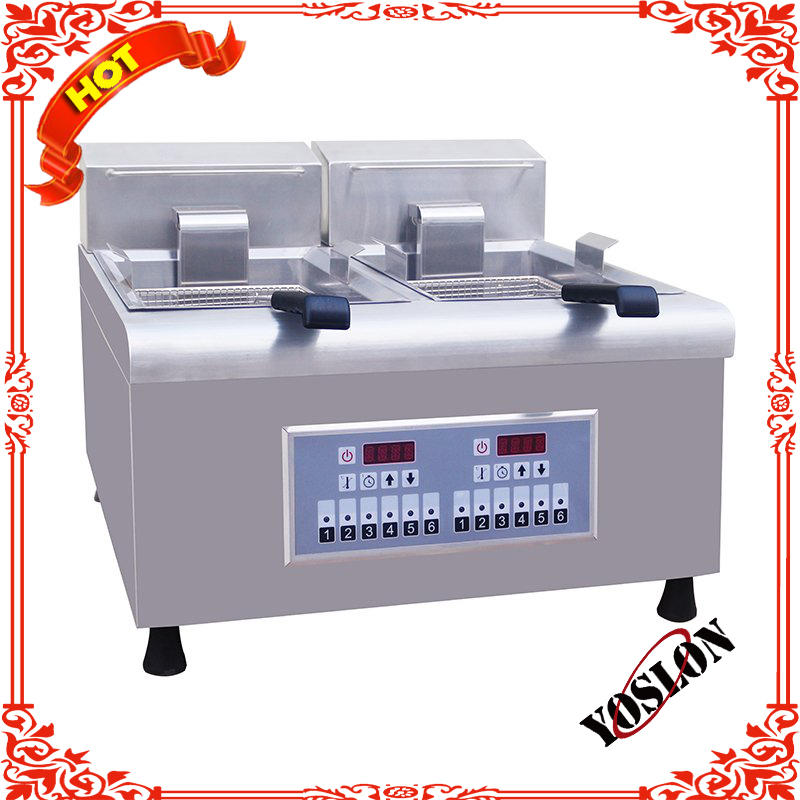 Countertop Commercial Potato Chips Electric Fryer