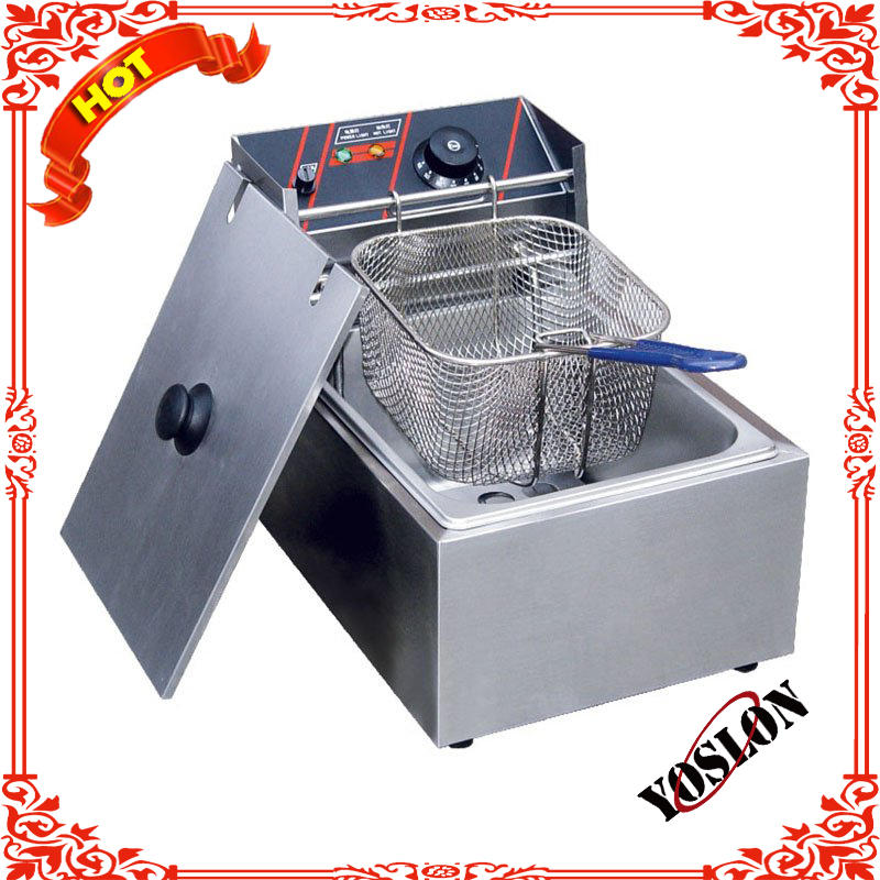Single Counter top electric fryer