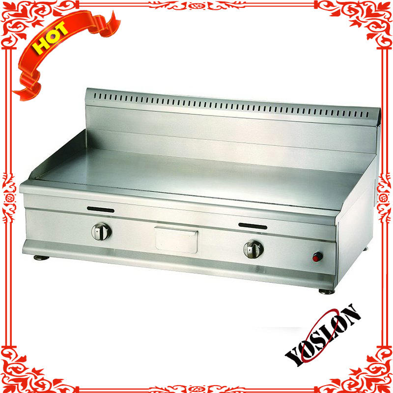 stainless steel China factory Industrial Counter Top Electric Griddle for sale BN-822B
