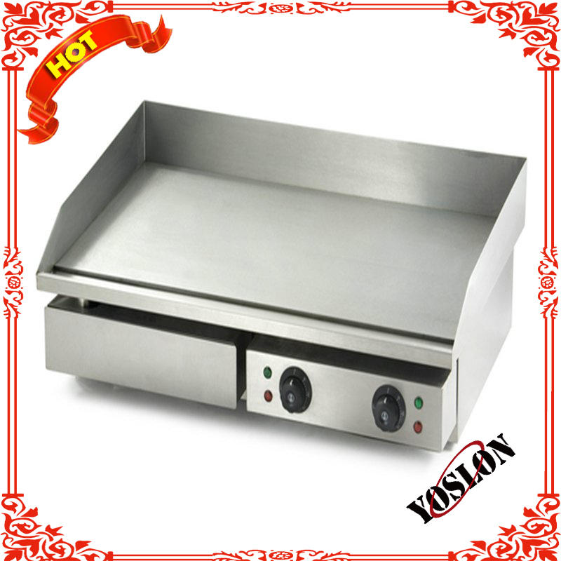 counter top stainless steel electric griddle