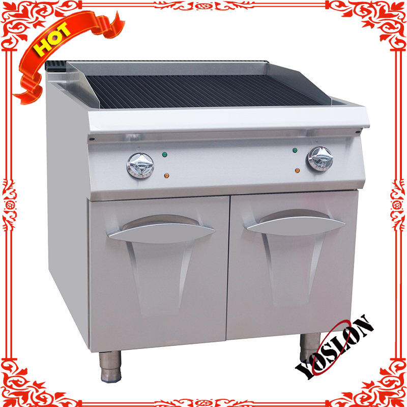 Commercial Luxury Electric Fryer With Cabinet/Wholesale Luxury Hotel Equipment Lava Rock Electric BBQ Grill