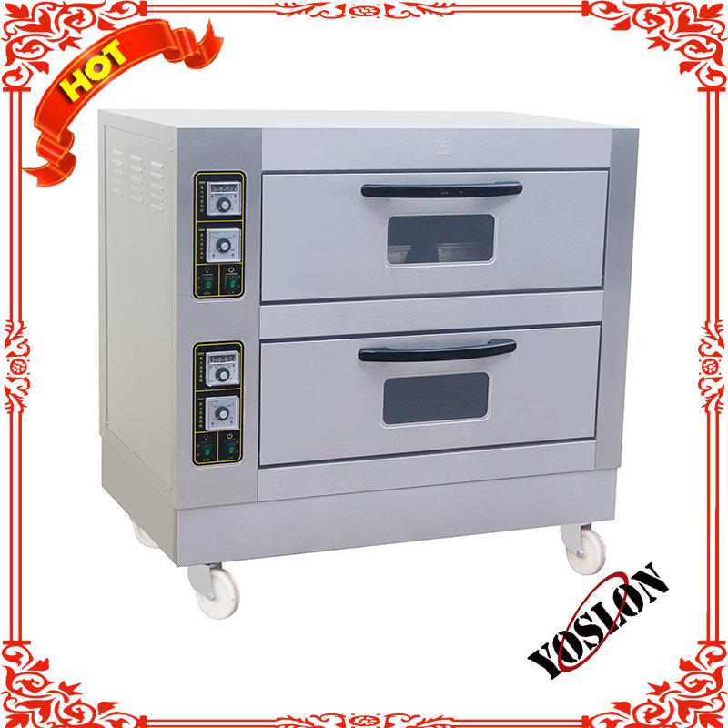 Junjian single deck Convection 1 2 3 4 tray mini electrical or gas commercial small pizza oven