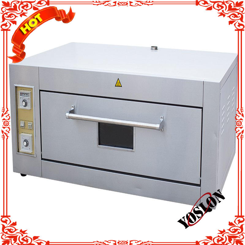Baking equipment 1 deck 2 bakery electric pizza oven prices bakery machines
