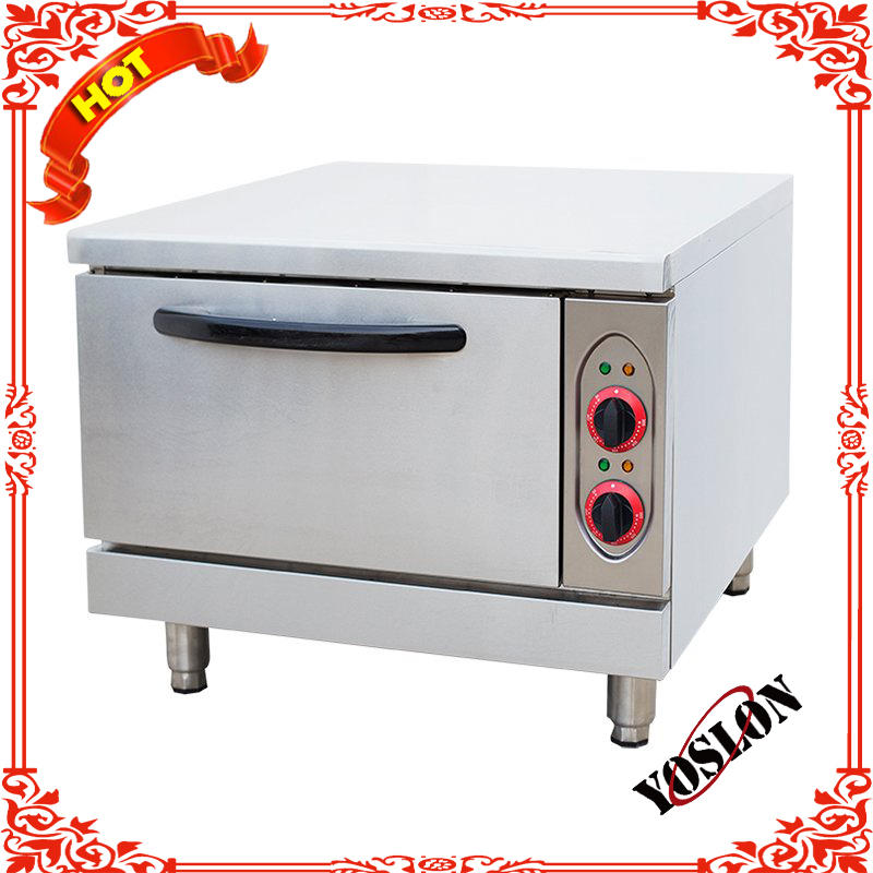 Hot Sale 1layer 2tray Electric baking bread pizza oven