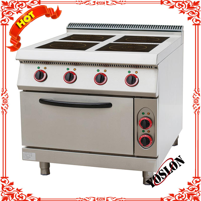 HRQ-912E 4-Plate Electric Cooker With Cabinet cooking range combination