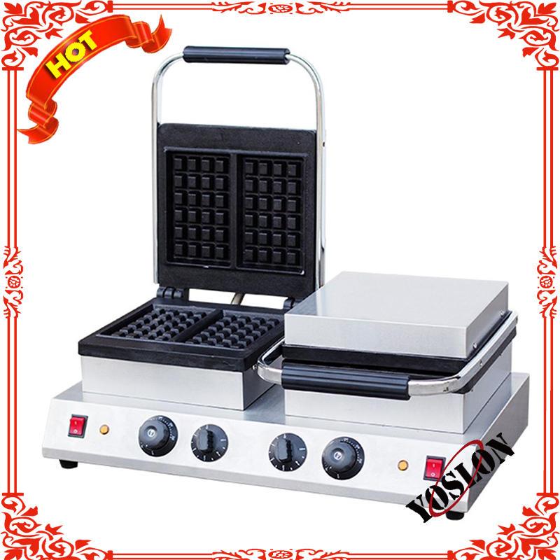 Waffle cone baker/ice cream cone maker/cone waffle machine ZU-2