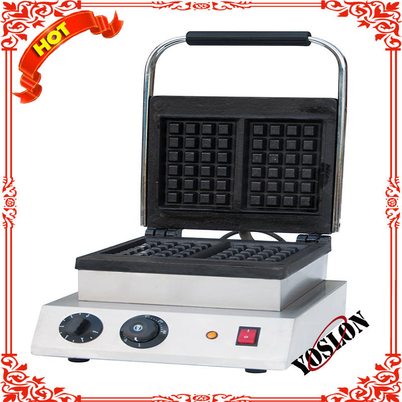 Hot sale Table up Stainless steel one Plate electric egg waffle cone maker baker price