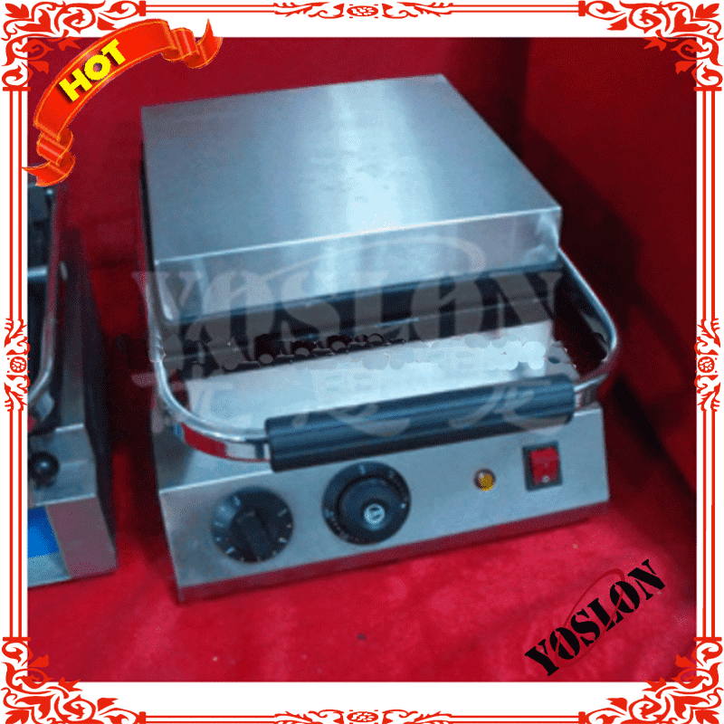 top quality waffle baker square with handle easy operating with ce approved