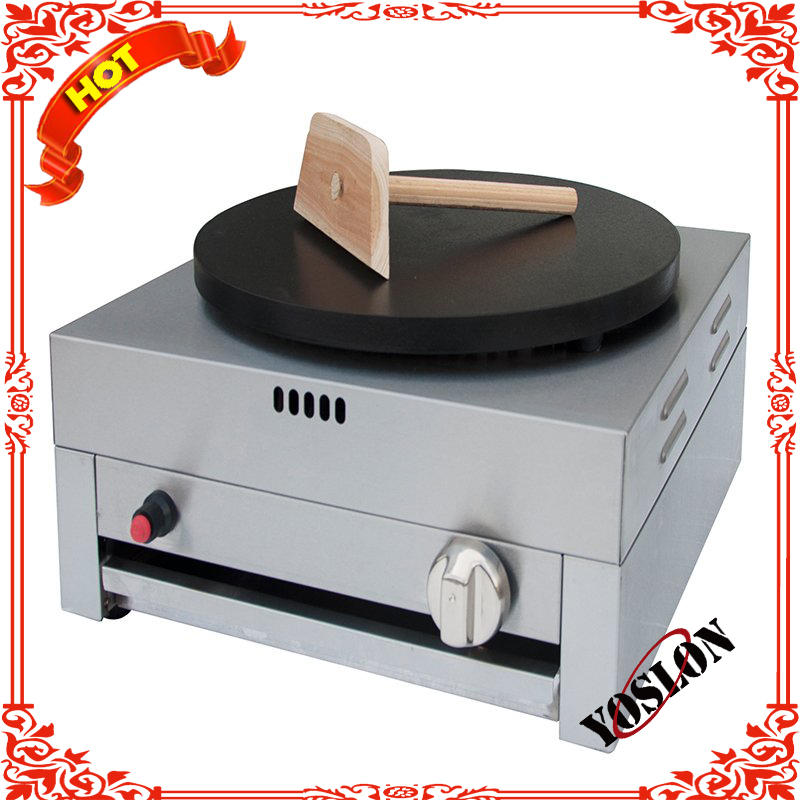 industrial gas automatic mini pancake machine commercial crepe maker