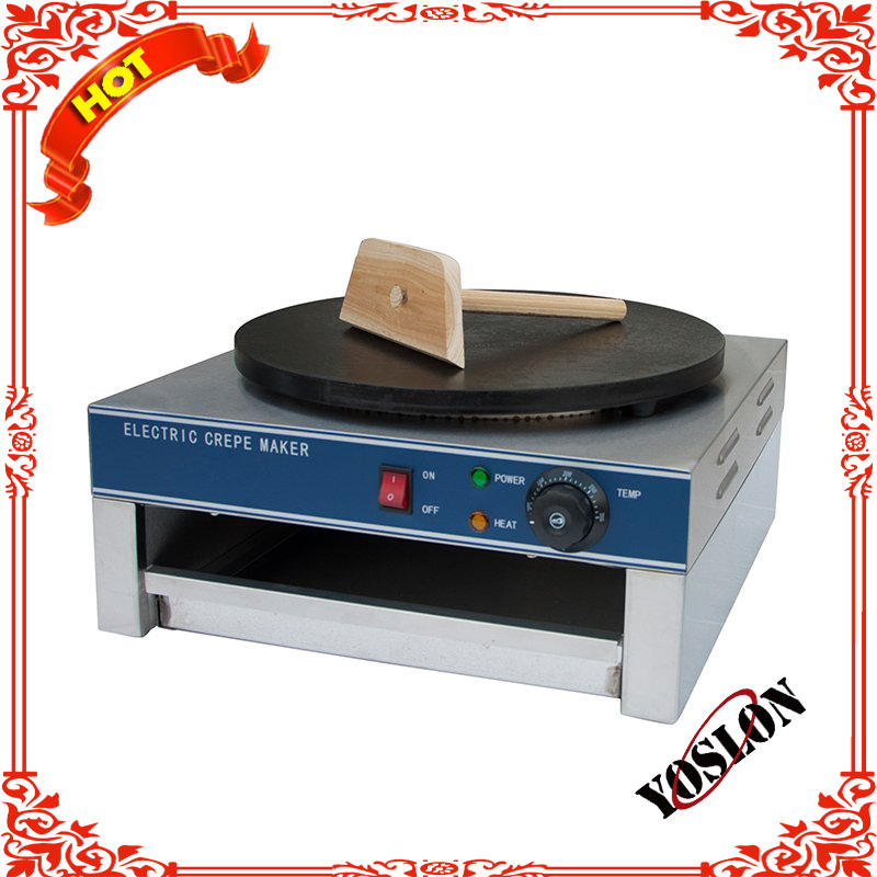 (Stainless Steel)Gas Certified Pancake Maker/Double plate Crepe Maker