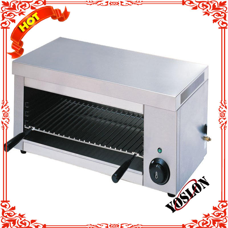Commercial counter top electric lift salamander grill for restaurant