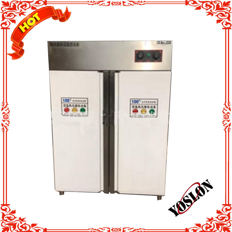 High-temperature hot air circulation disinfection cabinet double door