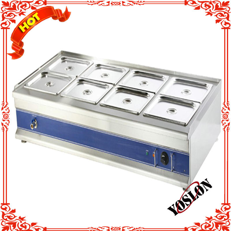 HB-4 4 pans stainless steel table top electric sauce food warmer bain marie on alibaba