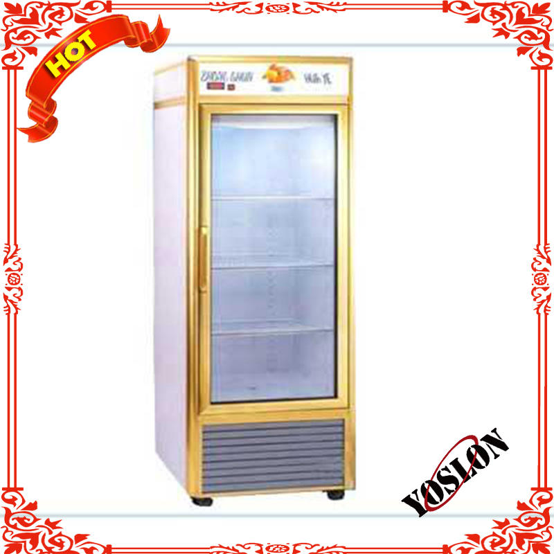 Vertical single-side perspective luxury refrigerator