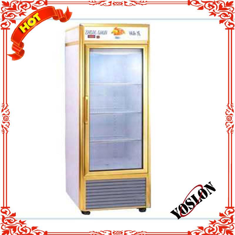 Vertical single-side perspective luxury refrigerator