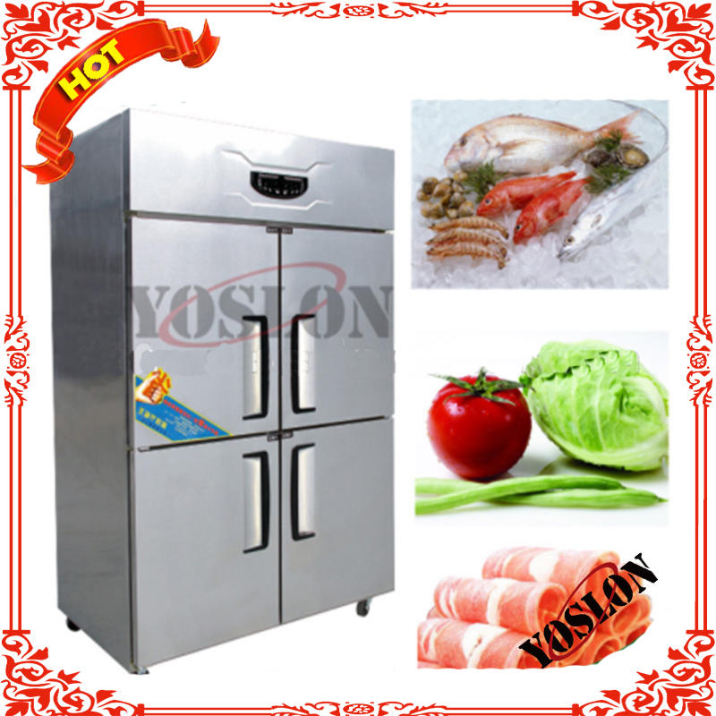 Stainless Steel 4 Doors Refrigerator Price