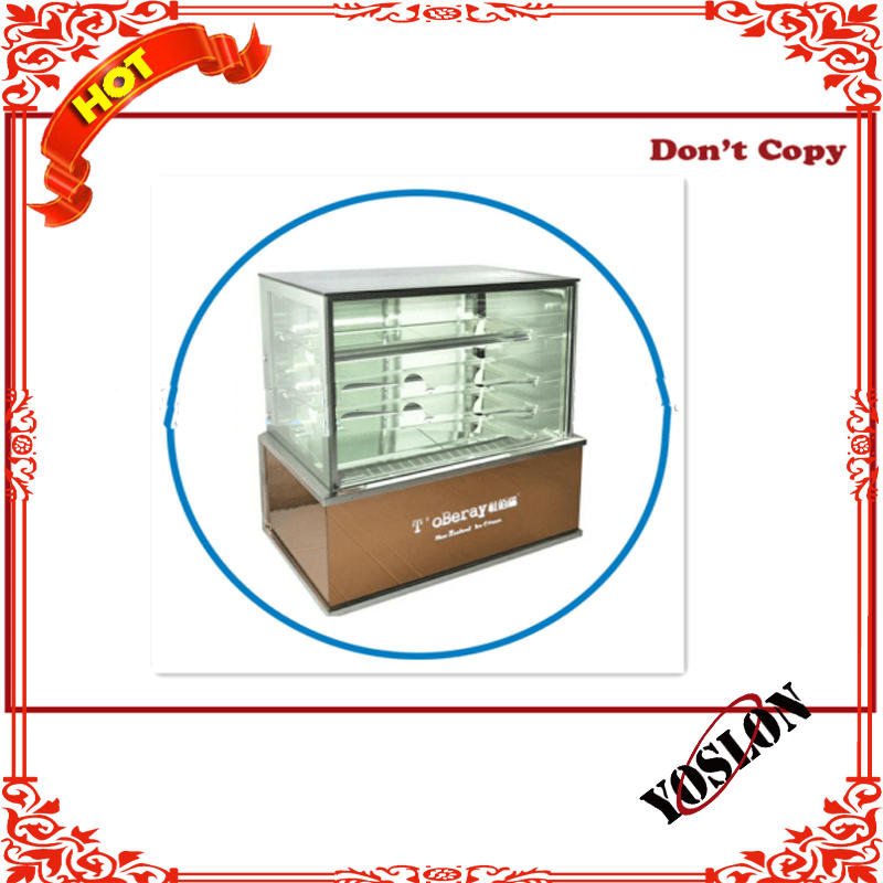 Cake diaplay chiller / chocolate counter display from Yoslon
