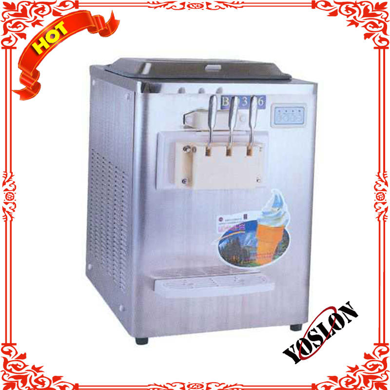 Vertical Stainless steel soft ice cream machine