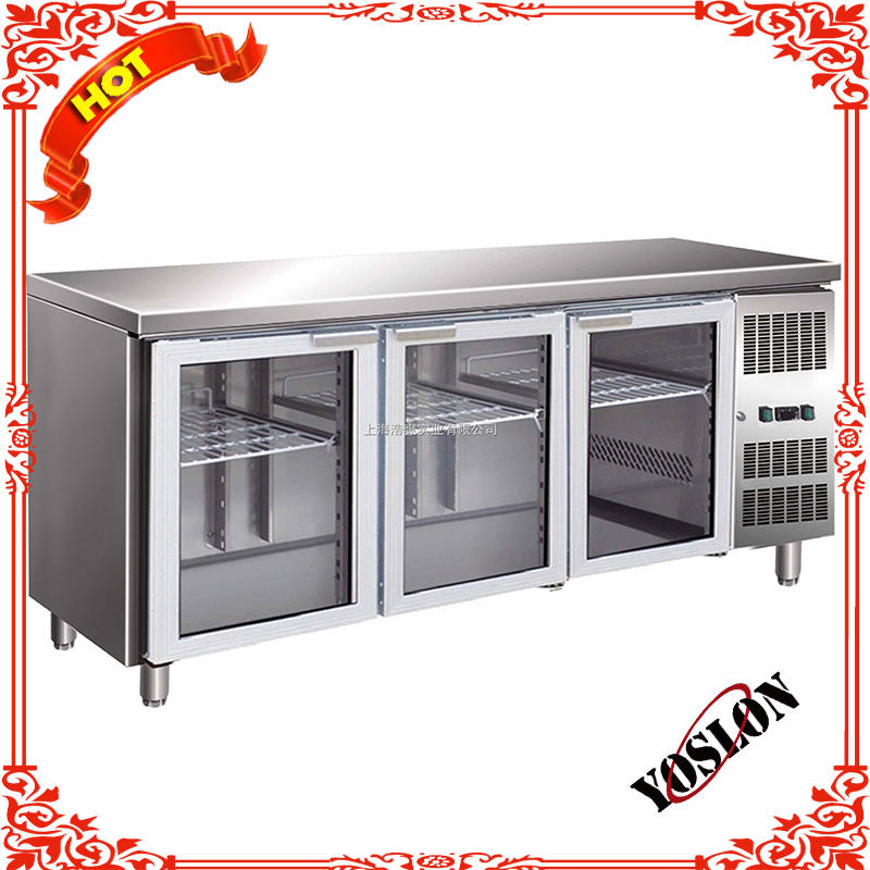 new technology stainless steel refrigerated cabinet
