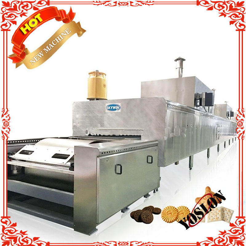 Skywin Automatic Biscuit Making Machine/ Biscuit Production Line 2018
