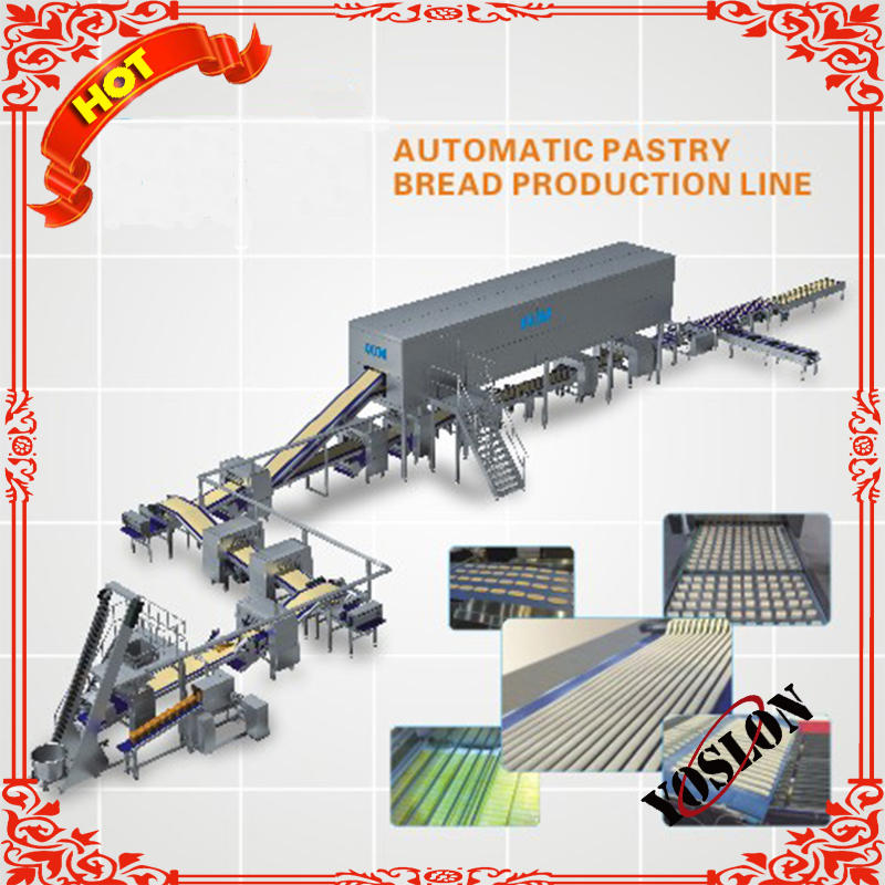 Automatic Pastry equipment for making danish pastry
