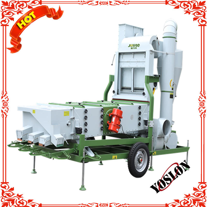 Movable Seed Grain Bean Cleaning Equipment