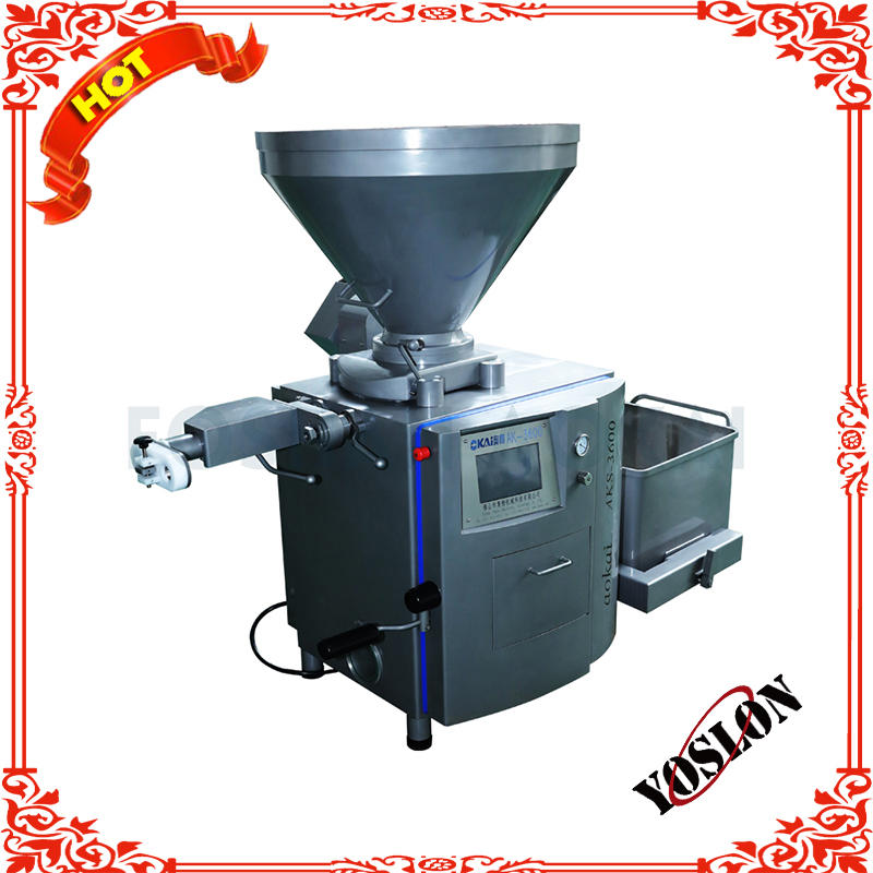 vacuum sausage filler / automatic sausage filling machine /automatic sausage making machine