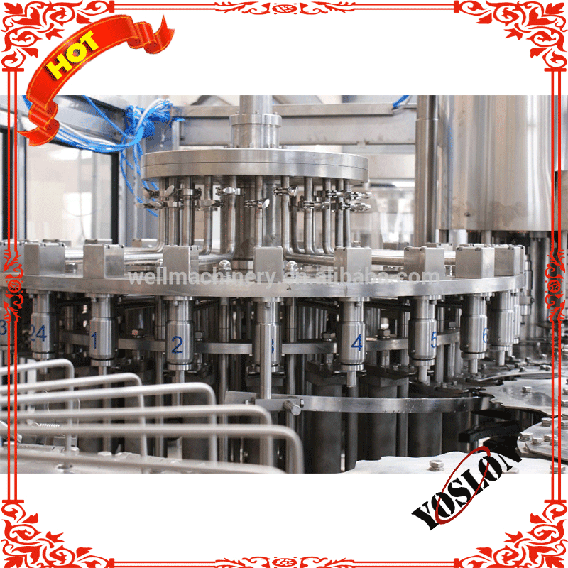 PET Bottle Juice/Tea/Milk Drink Hot Filling 3 in 1 Machine with Advanced Technology