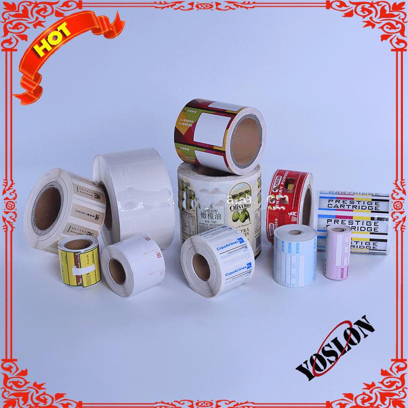 Custom sticker label, printing self sticker adhesive label