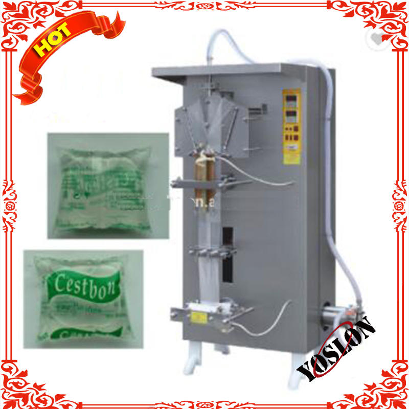 SJ-1000 Automatic Liquid Juice Sachet bags pouch packager Filling Machine Pure Water Packing Machine