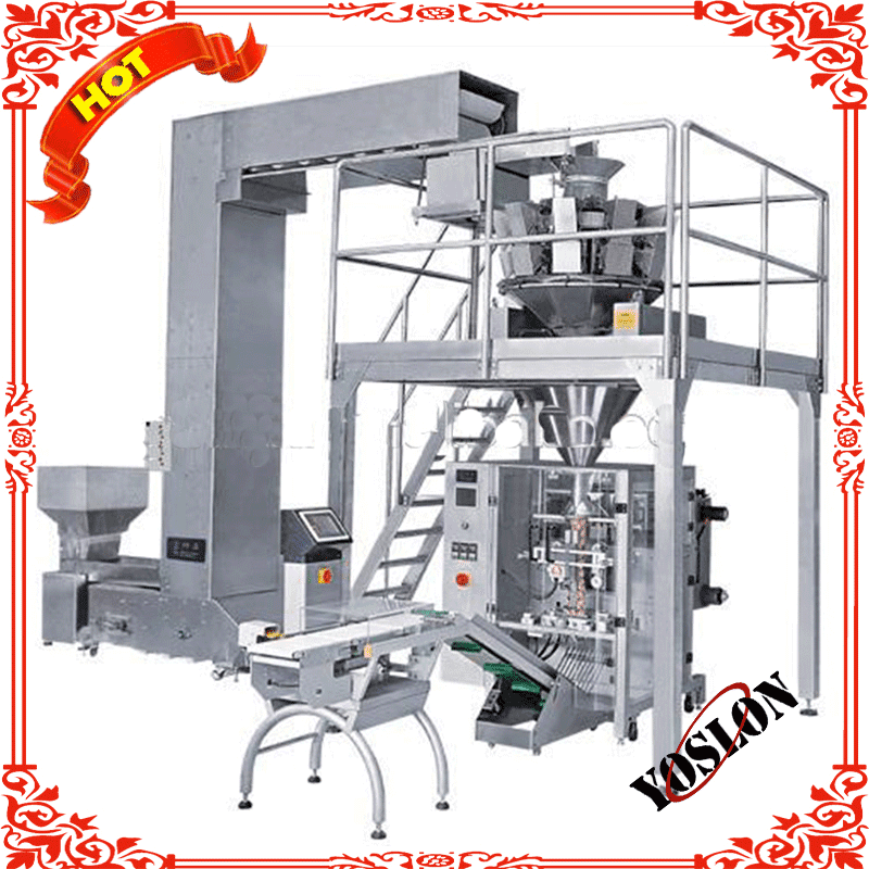 Multi head weigher automatic packaging machine