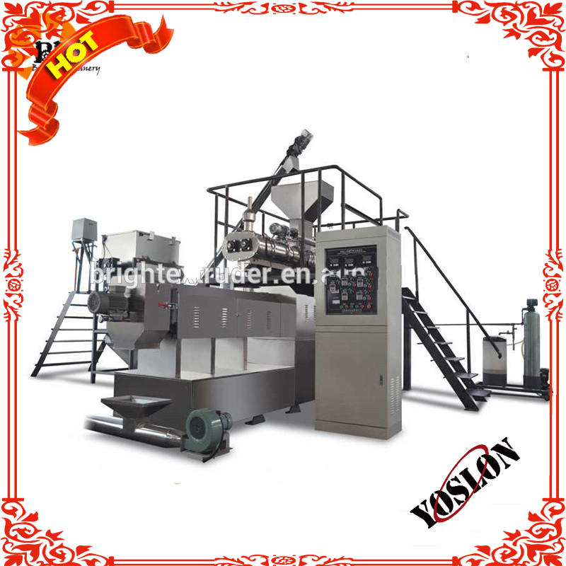 Automatic Textured Vegetable soybean protein machine soya protein process line