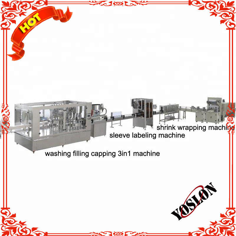 Fully Automatic Complete Plastic Small Bottled Drinking Pure Water Production Line