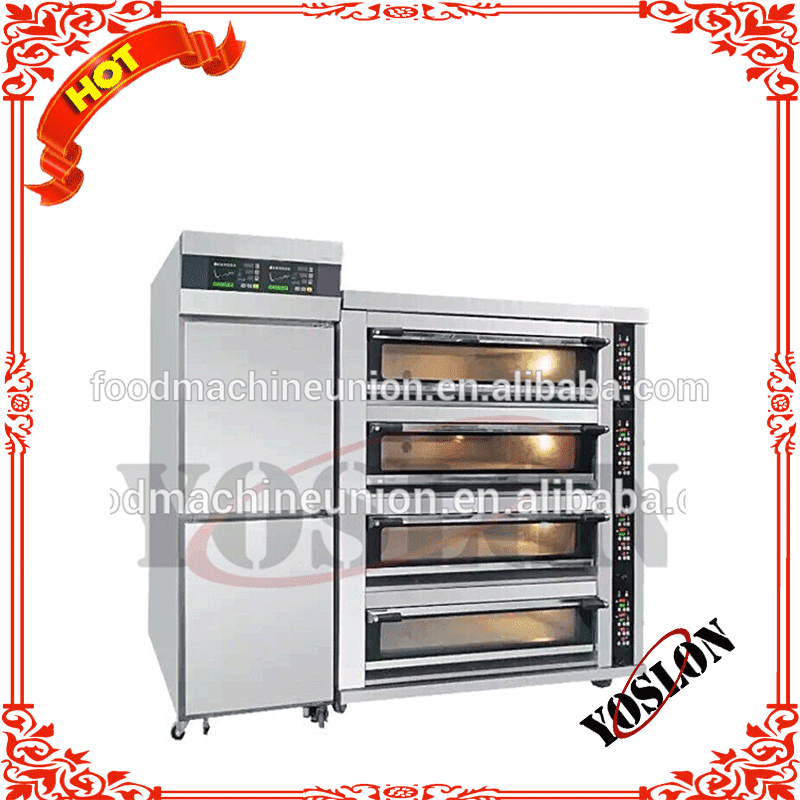 2018 YOSLON Combination Proofer With 3 Deck Oven