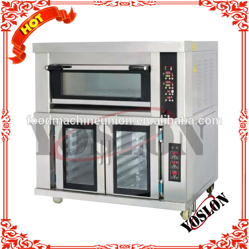 high efficient one deck combined proofer oven