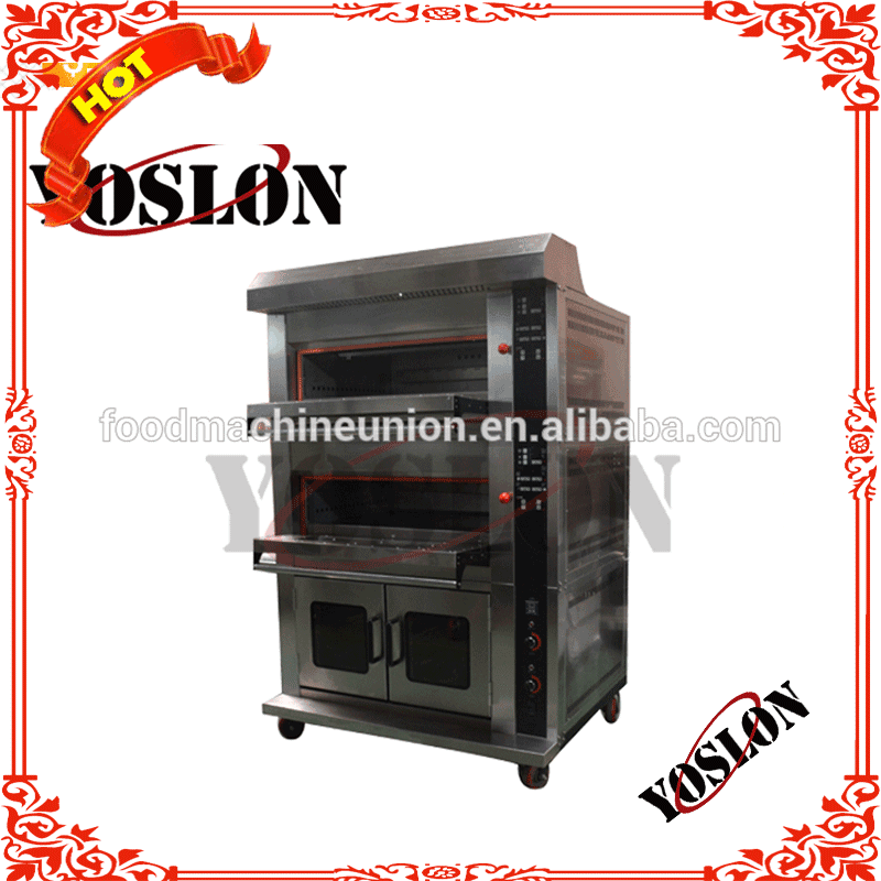 YOSLON combination electric oven with proofer easy operation
