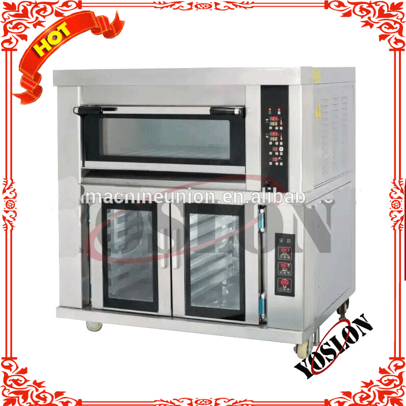Combination oven of baker and proofer from china factory