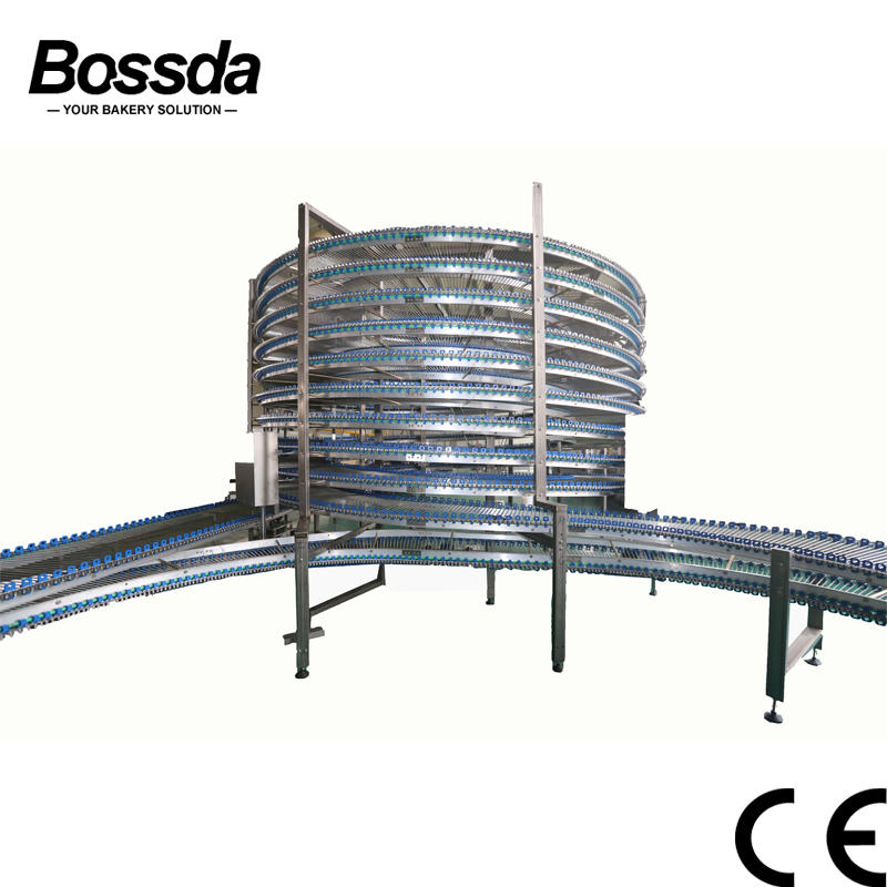 High Efficiency Cooling Tower for bread factory to cool bread pastry pita full-automatic