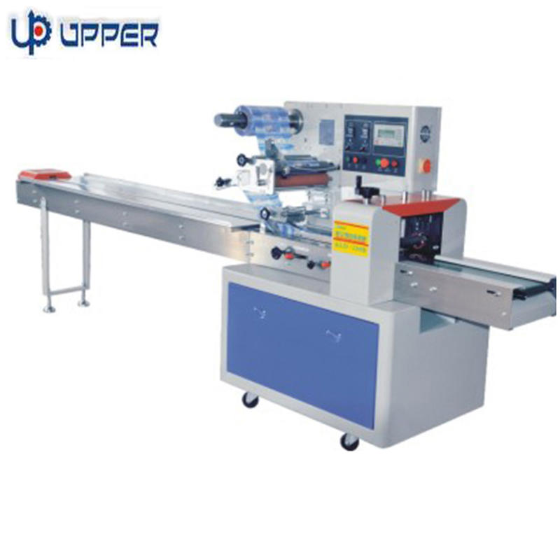 UPPER Automatic horizontal pillow type biscuit packing machine